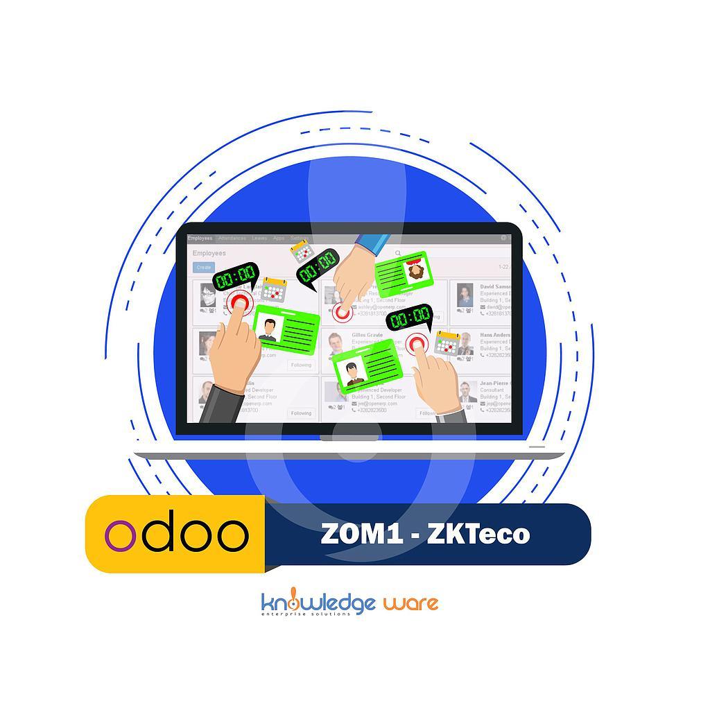 ZOM1 - ZKTeco Odoo module